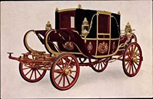 Ansichtskarte / Postkarte His Majesty's State Road Landau, The Royal Mews, Buckingham Palace, Tuc...