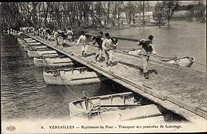 Ansichtskarte / Postkarte Versailles Yvelines, Repliement du