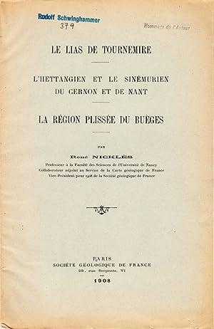 Le Lias de Tournemire. L Hettangien et: NICKLÈS, René