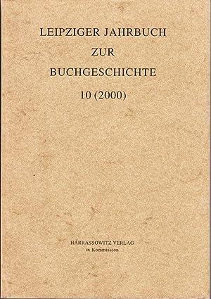 LEIPZIGER JAHRBUCH zur Buchgeschichte. Hrsg. v. Mark