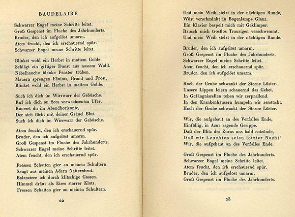 Verfall Und Triumph Erster Teil Gedichte