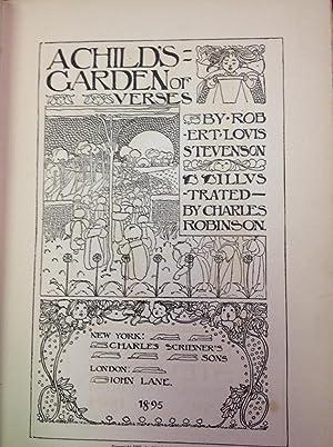 A Child's Garden of Verses: Stevenson, Robert Louis (association Marguerite Davis)