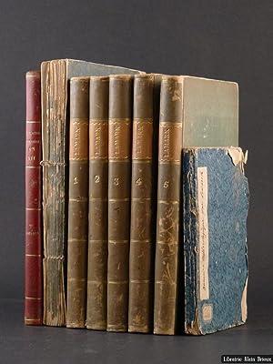 Annuaire métérologique pour les années 1799-1810; à: LAMARCK (Jean-Baptiste de)