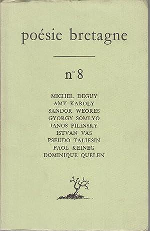 poésie bretagne N° 8: DEGUY Michel -
