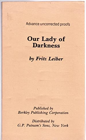 Our Lady of Darkness (inscribed copy)