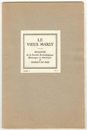 LE VIEUX MARLY: Bulletin de la Société: P. D. Martin