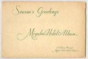 View Book] Season's Greetings, Miyako Hotel Album,: I. Takino, Manager