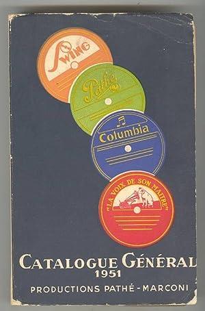 Catalogue Général des Disques 1951: Anon.