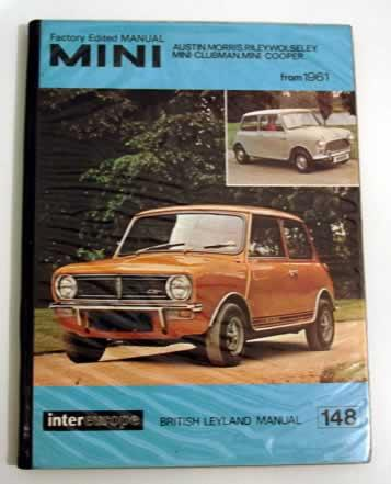 workshop manual for british leyland mini range by british leyland rh abebooks com Leyland Mini 1000 leyland mini 1275e workshop manual
