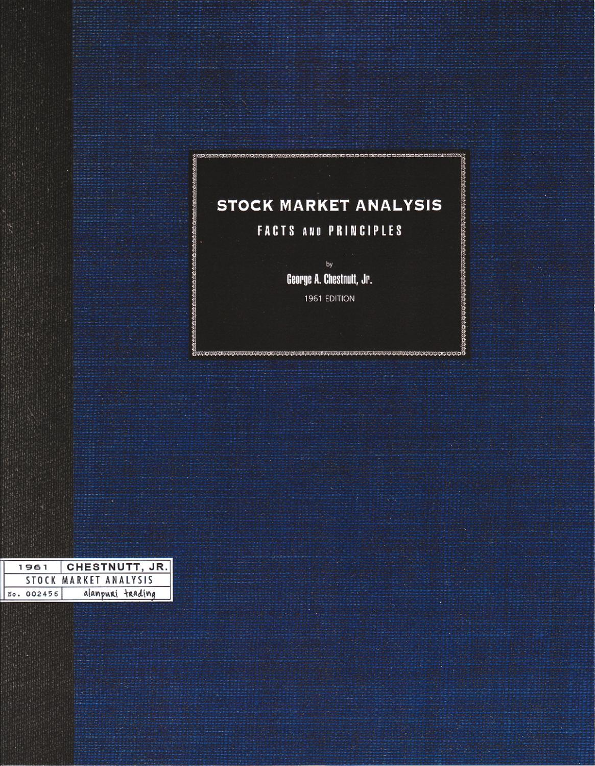 Stock Market Analysis: Facts and Principles