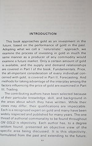 On Gold: Lipscomb, Alan H.; Libey, Donald R. (Editors); Mohide, T.P.; Potts, David; Butterman, W.C....