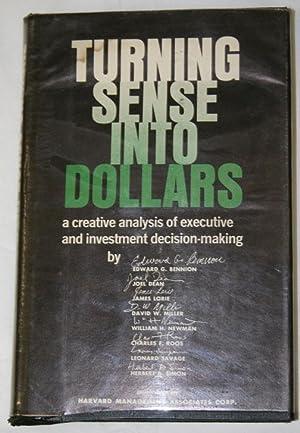 Turning Sense into Dollars: Fink, Steven Sanford
