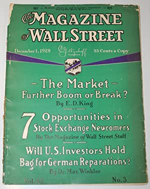 The Magazine of Wall Street: December 1, 1928: Various