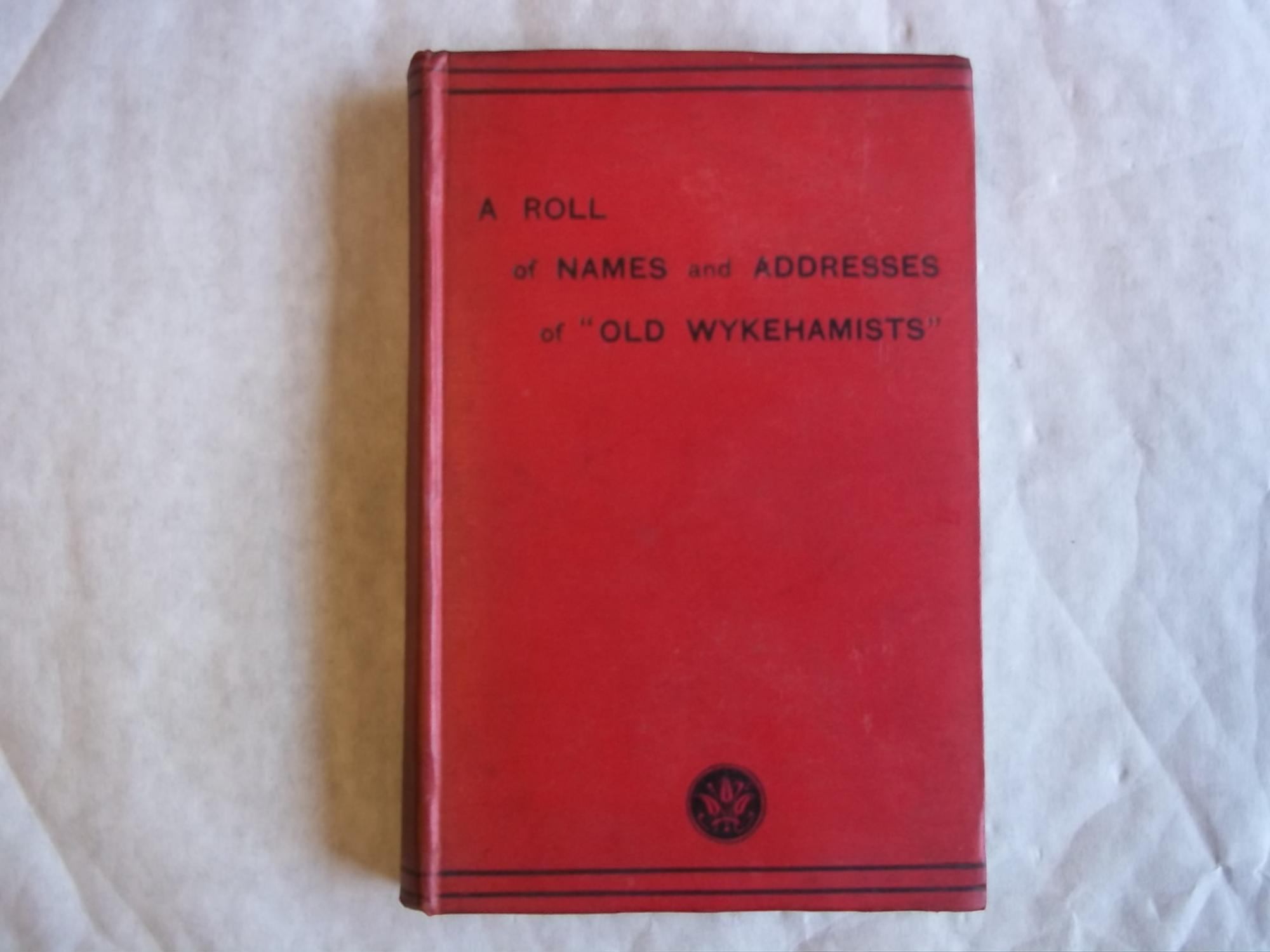 List of Old Wykehamists