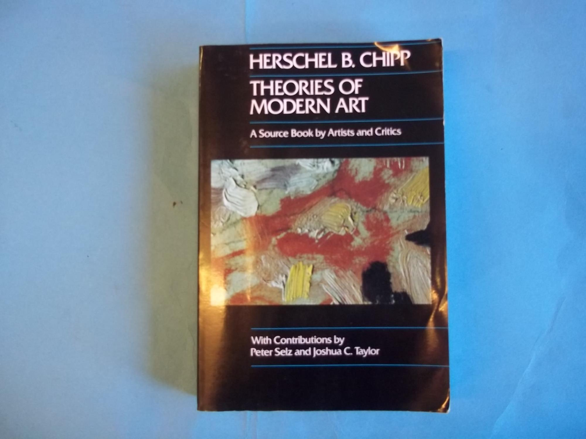 Theories Of Modern Art A Source Book By