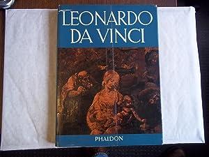 Leonardo Da Vinci. Life and Work Paintings: Goldscheider. Ludwig