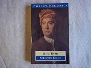 selected essays hume Adam smith, held academic posts in a number of these disciplines in the course of their careers david hume's work exerted a formative influence on the course of.