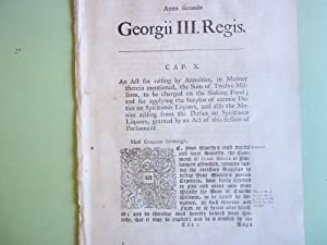 An Act for Raising By Annuities, in: George III.