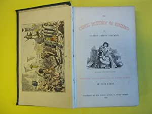 The Comic History of England. With Twenty Coloured Etchings and Two Hundred woodcuts By John Leech.
