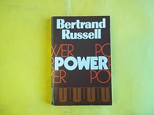 Power: A New Social Analysis: Bertrand Russell