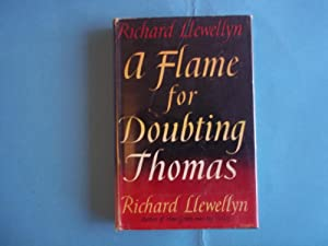 A Flame for Doubting Thomas.: Llewellyn. Richard