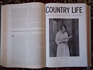 County Life. The Journal for All Interested in Country Life and Country Pusuits. Volume 46. July ...