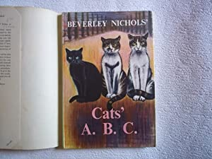 Cats' A.B.C. Illustrated By Derrick Sayer.