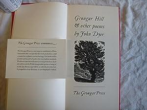 Grongar Hill & Other Poems.: Dyer. John