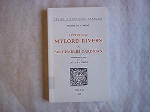 Lettres De Mylord Rivers a Sir Charles: Riccoboni. Madame