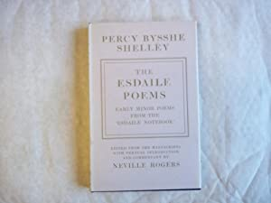 The Esdaile Poems. Early Minor Poems from: Shelley, Percy Bysshe