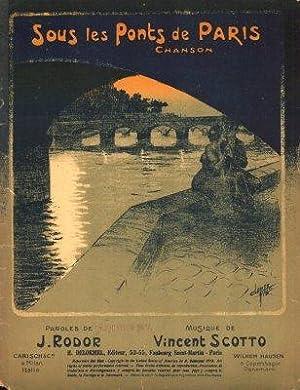 Sous les Ponts de Paris.: Scotto, Vincent,