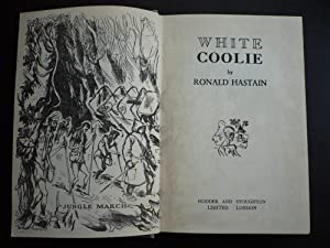 White Coolie.: Hastain, Ronald