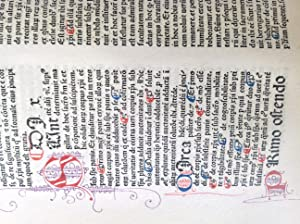 Commentum Super Quarto Sententiarum / Richardus De Mediavilla - [Incunable - Provenance : Couvent...