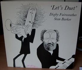 Cover Art for Let's Duet. Signed by: LYTTELTON Humphrey.