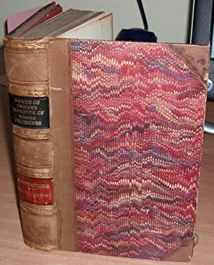 Transactions. Volume V111. 1859-60.: NORTH OF ENGLAND INSTITUTE OF MINING ENGINEERS.