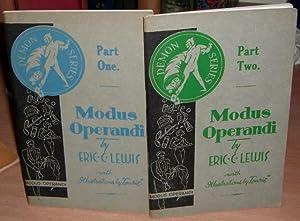 Modus Operandi. Complete in 2 Volumes.: LEWIS Eric C.