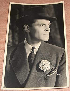 Inscribed and Signed Postcard.: POSTCARD SIGNED. LODGE John. Film Star.