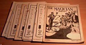 The Magician Monthly. 16 issues.: IRVING Bernard and others edit