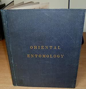 Thw Cabinet of Oriental Entomology. Advance Edition with 4 Plates in original boards.: WESTWOOD J.O...