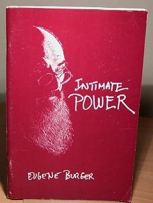 Intimate Power. Psychological Presentations for the Close-Up Entertainer.: BURGER Eugene.