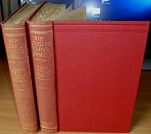 Sir Douglas Haig's Command. December 19, 1915 to November 11, 1918. 2 Volumes Complete.: DEWAR...