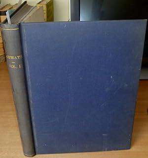 Airways. Air Travel Magazxine. Volume 1, 12 issues, complete, bound in 1.: MILLS G.H.Saxon edits