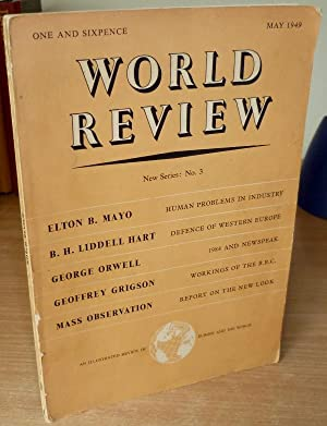 1984 and Newspeak. Article in World Review: ORWELL George.