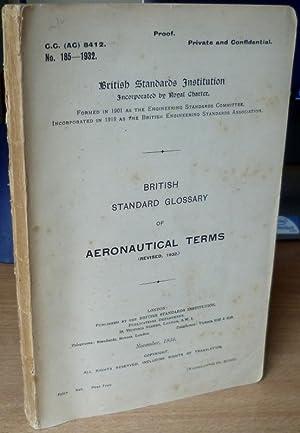 British Standard Glossary of Aeronautical Terms (Revised: AVIATION.