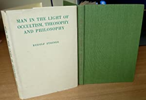 Man In The Light Of Occultism, Theosophy: STEINER Rudolf.