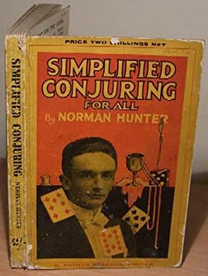 Simplified Conjuring For All.: HUNTER Norman.