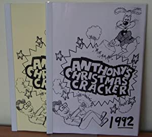 Anthony's Christmas Cracker. 2 Volumes. One with a signed presentation inscription from the ...