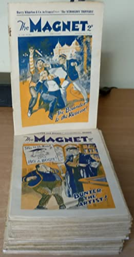The Magnet. Run of 34 Issues,Nos.1334 to 1367.: RICHARDS Frank.