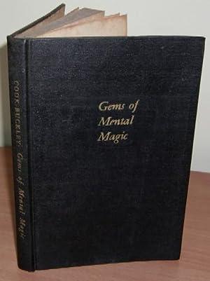 Gems of Mental Magic.: COOK John Brown and BUCKLEY Arthur.