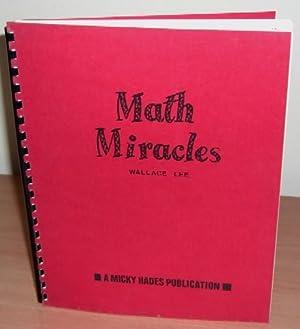 Math Miracles.: LEE Wallace.
